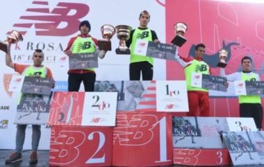 Otra vez, Arbe en los más alto del podio en un medio maratón.