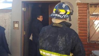 El incendio se produjo en una vivienda del barrio ceferino Namuncurá.
