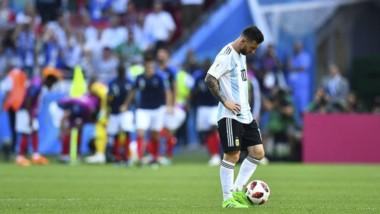 Messi nunca encontró su lugar con el nuevo esquema.