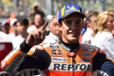 Márquez largará por primera vez desde la pole en el GP de Holanda de MotoGP.
