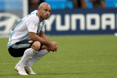 Tras la eliminación ante Francia, Mascherano cerró su ciclo en la Selección Argentina.