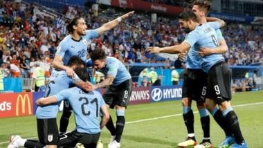 Uruguay, que viene de eliminar a Portugal, jugará los cuartos de final ante Francia, con su goleador Cavani en duda.