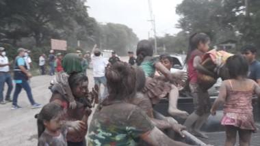 Desastre en Guatemala: Explotó el volcán de Fuego y hay 25 muertos.