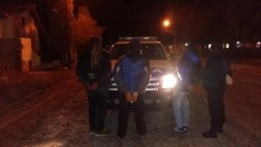 Por el hecho hay tres personas detenidas (foto @JefPolicia)