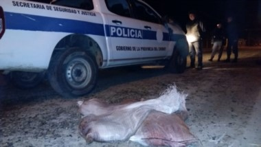 Policía detuvo a tres personas por el hecho (foto @JefPolicia)