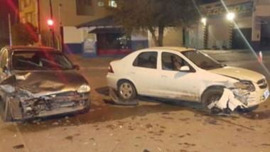 El choque fue protagonizado por un Corsa y un Chevrolet Prisma.