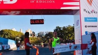 Una vez más el esquelense Joaquín Arbe logra una victoria en un 2018 que lo tiene como protagonista en el atletismo argentino.