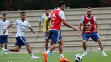 Mañana, desde las 10, @Argentina volverá a entrenar en la Ciudad Deportiva del Barcelona. Los medios podrán presenciar los primeros 15 minutos de la práctica.