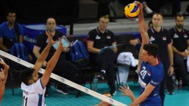 Argentina no pudo ante el poderío de Serbia y cayó por 3 a 1.