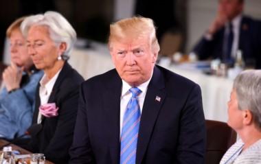 """Trump aseguró que tras culminar la cumbre del G7 en Canadá, estará viajando a """"Singapur en una misión de paz"""", refiriéndose a su encuentro con el líder norcoreano, Kim Jong-Un."""