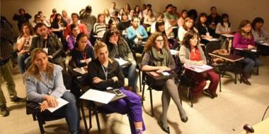 Los doctores Analía Morat, María Noelia Bonduel y Dardo Fracchia, expusieron en Comodoro Rivadavia.
