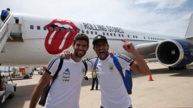 La delegación argentina partió rumbo a Rusia. ¡Comienza el sueño!