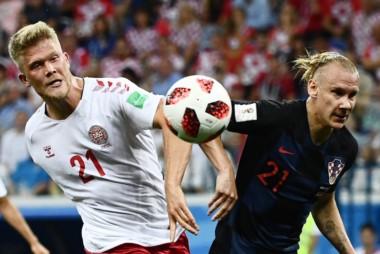 Croacia y Dinamarca arrancaron con todo y luego se fueron apagando.