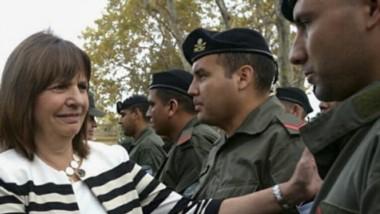 La ministro Patricia Bullrich cuestionó duramente a la oposición.