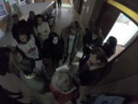 Goodman y docentes esperaron por un escribano para retirarse del lugar