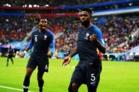 El defensor de Barcelona, de cabeza, metió a Francia en la final.