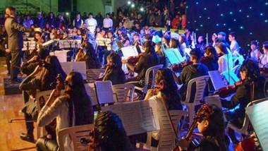 Durante la presentación se culminó con la filmación de un documental sobre la orquesta.