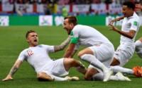 Con un gol tempranero de Trippier, Inglaterra se ponía arriba.