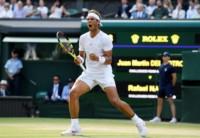 En un partidazo, Nadal derrotó a Del Potro en los cuartos de final.