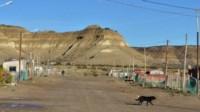 El hecho ocurrió en el extremo oeste de Madryn (foto Lu17.com)