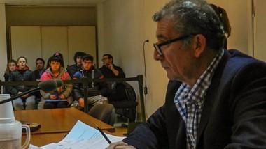 El fiscal Daniel Báez fue el encargado de acusar por el crimen del joven.