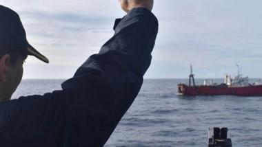La Armada confirmó la demora y reportó detalles de la situación.