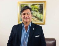 El presidente de la Sociedad Rural Argentina (SRA), Daniel Pelegrina.