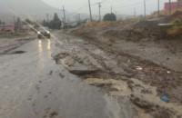 Pese a las grandes lluvias la situación de mantenía controlada