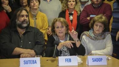El secretario general del gremio SUTEBA, Roberto Baradel, anticipó que los gremios esperarán  la reunión.