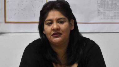 Marcela Curache, de la delegación de Trabajo en Puerto madryn.