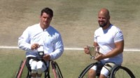 Fernández no pudo con el sueco Olsson y fue subcampeón en Wimbledon.