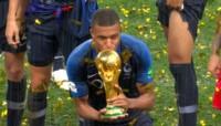Con tan solo 19 años, Mbappé ya es campeón del mundo y, además, fue elegido el mejor jugador joven del Mundial.