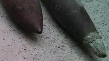 Las municiones fueron halladas y posteriormente desarticuladas.