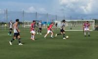 Los suplentes de Boca golearon 7-2 a Miami United con goles de Benedetto (3), Zárate (2), Izquierdoz y Espinoza.