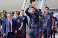 Así fue la llegada del nuevo campeón del mundo a París.