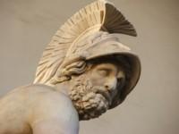 Alejandro Magno, el rey de Macedonia que conquistó gran parte del mundo antiguo.