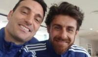 Scaloni y Aimar, la nueva dupla técnica del seleccionado argentina Sub 20.