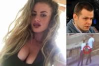 Chloe Ayling y su secuestrador, Lukasz Herba. el hombre recibió casi 17 años de cárcel por el rapto de la joven. En el Reino Unido no le creen a la joven y aseguran que ellos se conocían.