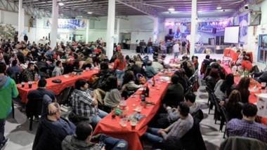 Los festejos contaron con una participación masiva de los afiliados a la entidad gremial.