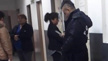 La vigilancia para Domínguez Reyes en el Materno Infantil de Trelew.