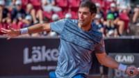 Fede Delbonis no pudo seguir avanzando en el ATP 250 de Bastad.