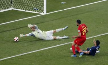 Un gol en la última acción del partido de Nacer Chadli, que había salido en la segunda parte, consumó la épica remontada de Bélgica.