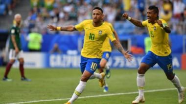 Neymar y Brasil terminan con la ilusión de México en el Mundial.