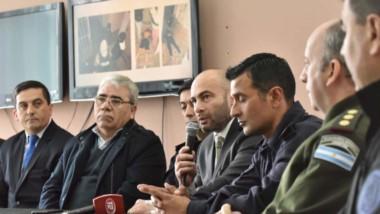 """En una conferencia de prensa en la Jefatura de Policía, se informó del denominado operativo """"Comunidad"""""""