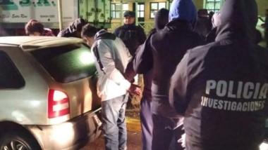 Rocco fue atrapado en el acceso norte de Trelew a bordo de un vehículo