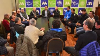 Los comerciantes analizaron junto a autoridades provinciales y municipales la problemática de seguridad.