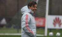 Gallardo confirmó la formación para jugar contra Central Norte.