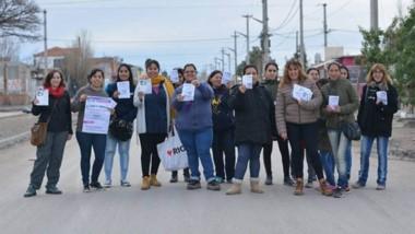 Se palpita el 33º Encuentro Nacional de Mujeres. La comisión organizadora difundió el evento en barrio Inta.