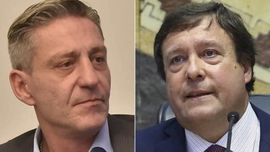 En bloque. Arcioni (izquierda) y Weretilneck quieren unidad sureña.