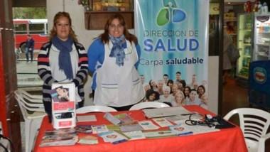 La actividad es organizada por la Municipalidad y Salud de la Provincia.